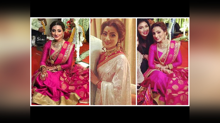 Tv Actress Neha Marda Was Looking Gorgeous At Her Sister Wedding