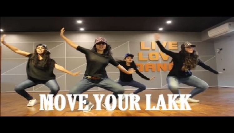 MOVE YOUR LAKK DANCE PERFORMANCE? NOOR SONAKSHI DILJIT DOSANJH RITU'S DANCE STUDIO SURAT