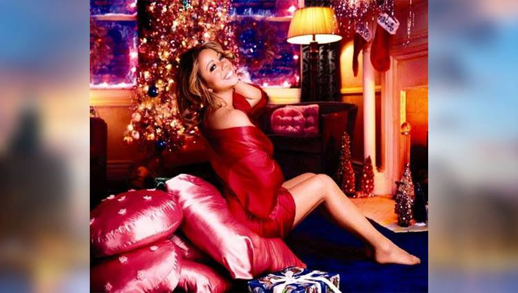 hollywood celebrities celebrating christmas