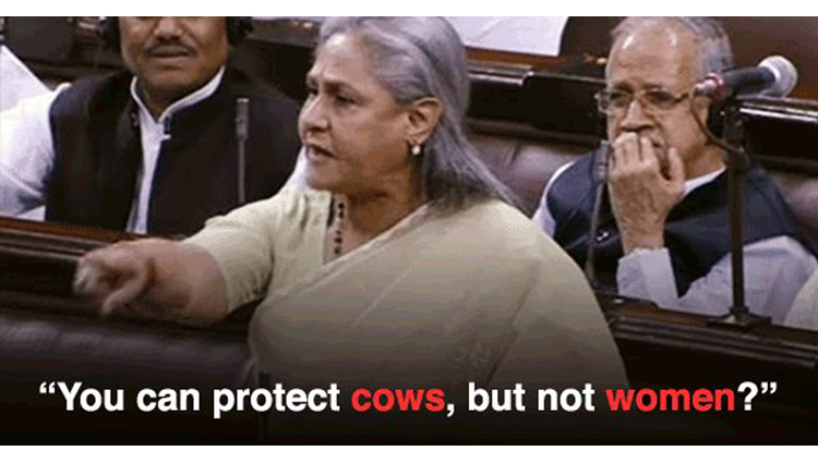 Jaya Bachchan's Powerful Voice Just Nailed It In Parliament, Every Girl Should Watch This..!!!