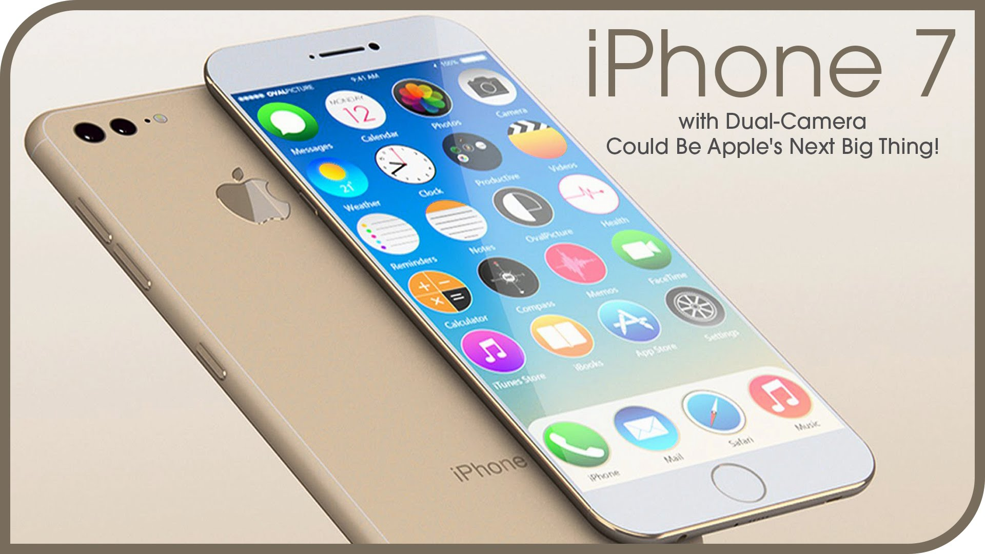 See video of the Apple iphone 7 Introduction
