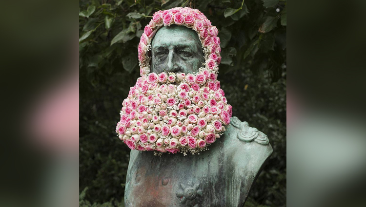 florist geoffroy mottart street art