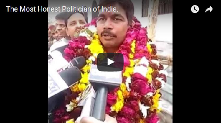 Honest indian Politician