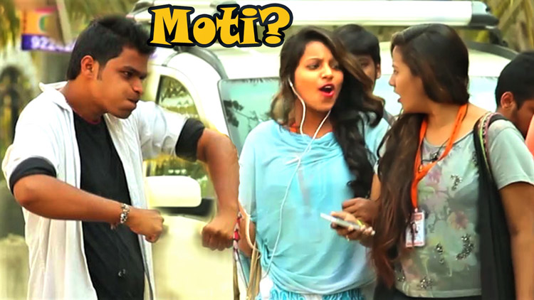 Calling Cute Girls MOTI Prank Pranks in India