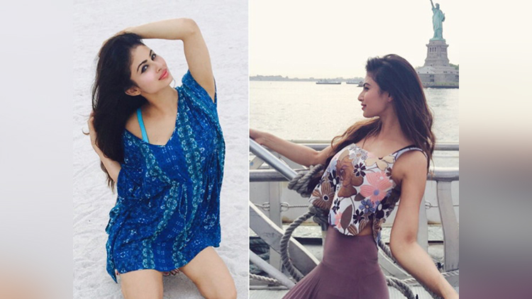 tv Actress Mouni Roy share her vacation pictures on insta
