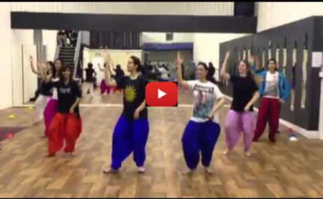 Bhangra is going viral on social media fiercely video