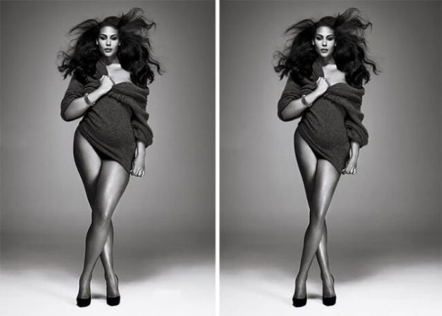 celebrities photoshopped viral pictures