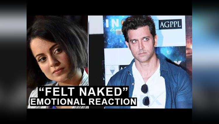Kangana Ranaut Share Her Views On Having Affair With Hrithik Roshan Saying  'I felt extremely naked and vulnerable when the letters were exposed.'