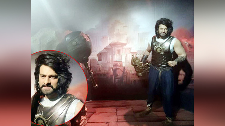 south indian actor prabhas in tussaud museum