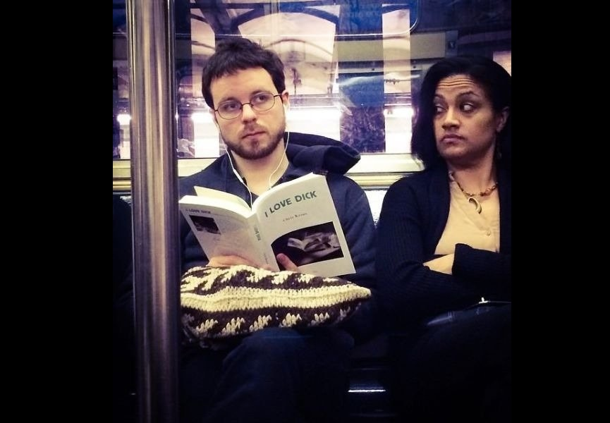 funny books reading in public places