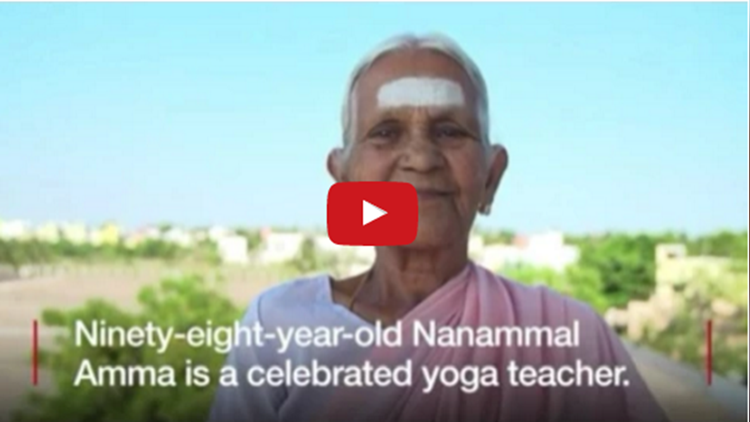 98 years old south indian expert yoga instructor