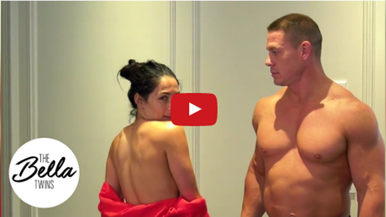 john cena and nikki bella nude dance