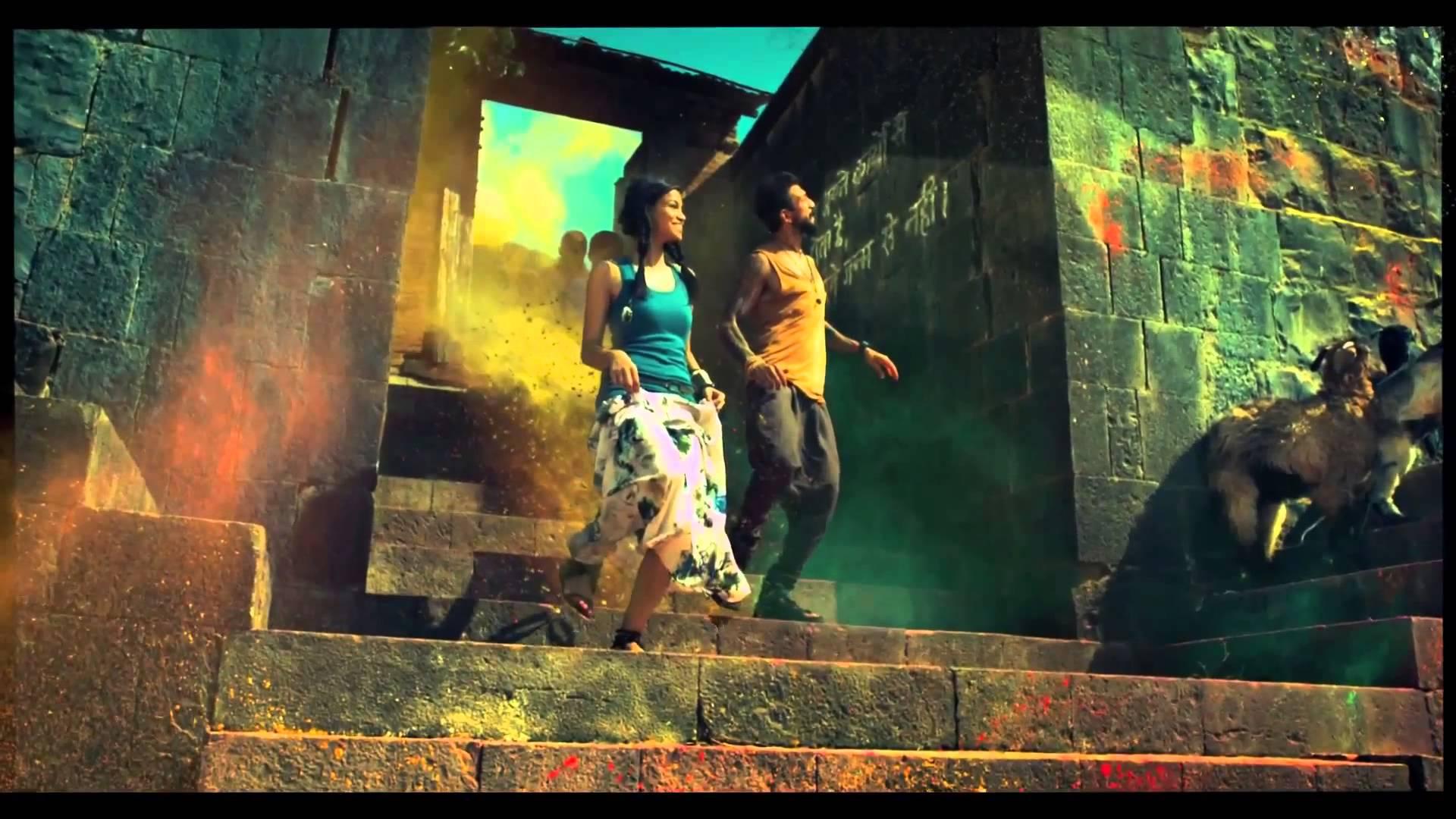Incredible India Madhya Pradesh colors Wonderfull Ad