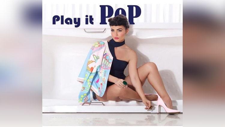 Bollywood actress Elli Avram Photoshoot On Play It Pop Theme