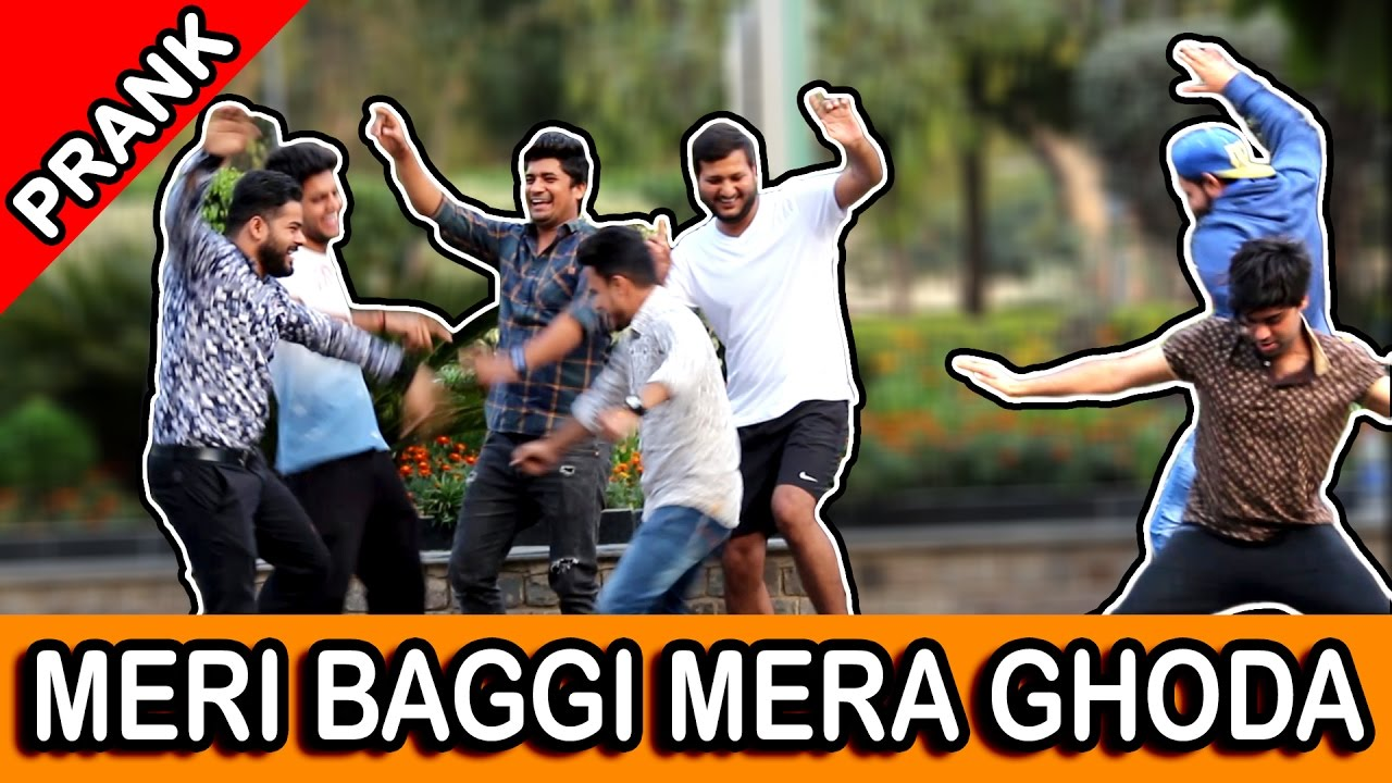MERI BAGGI MERA GHODA PRANK TST Pranks in India