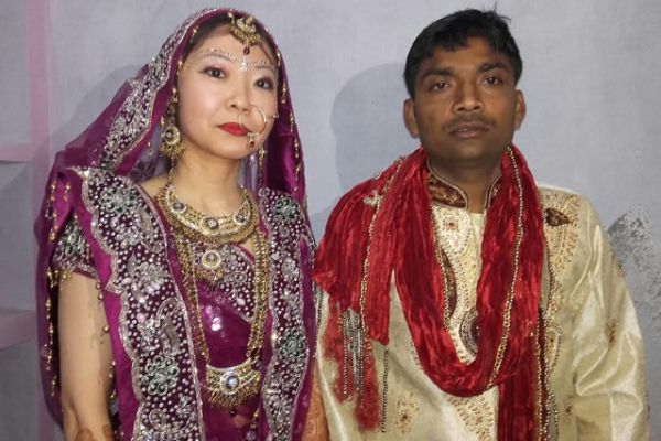 japanese girl marriage with village boy