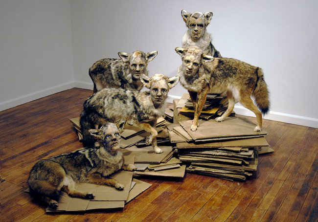 amazing sculpture made by artist Kate Clark