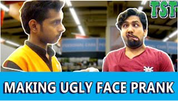 UGLY FACE PRANK 2 TSTPranks in India