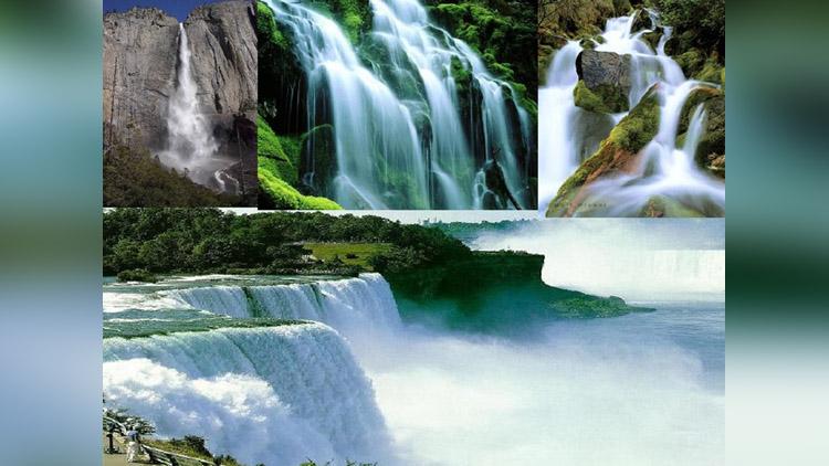 Amazing Waterfalls Around the World viral video