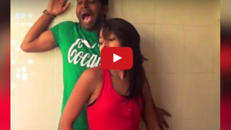 dance video of two girls viral on social media