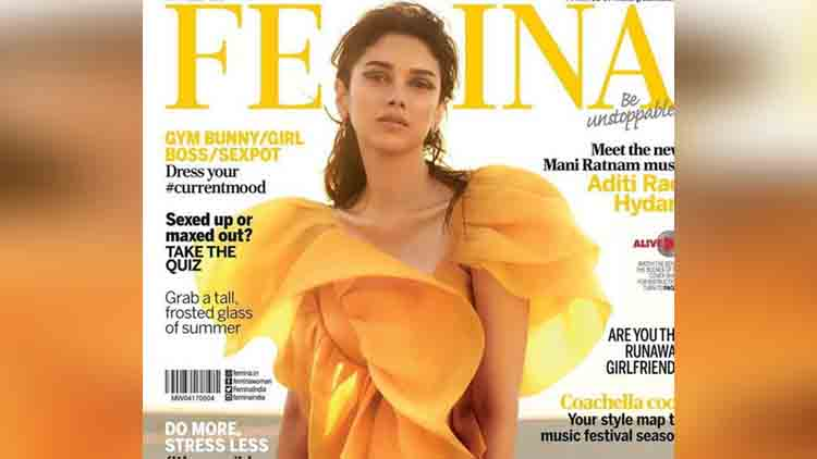 Aditi Rao Hydari on Femina's cover
