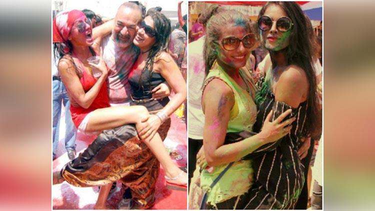 Tv Stars During The Holi Celebration