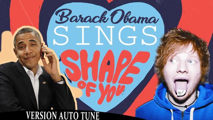 Barack Obama Singing Shape of You by Ed Sheeran
