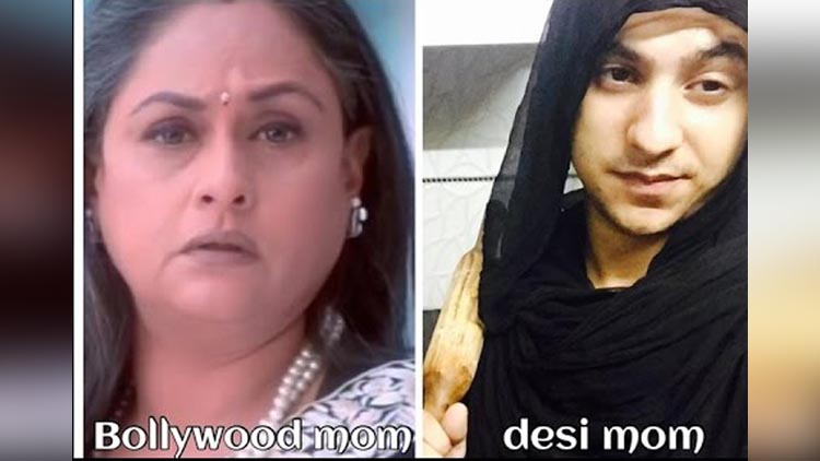 Bollywood mom or Desi mom viral video