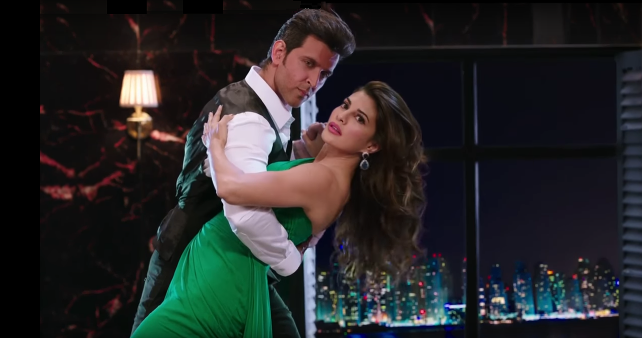 dance with fight of hrithik roshan and jacqueline fernandez