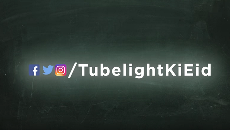 Tubelight Social Media Handles Salman Khan