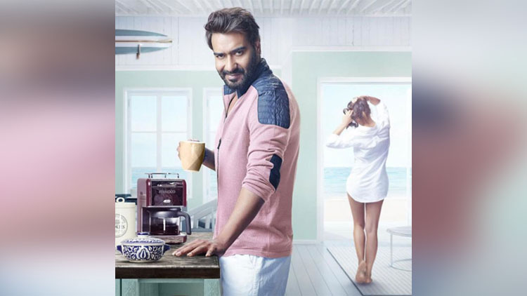 first look of ajay devgan romantic comedy