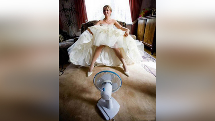 pictures of funny bride