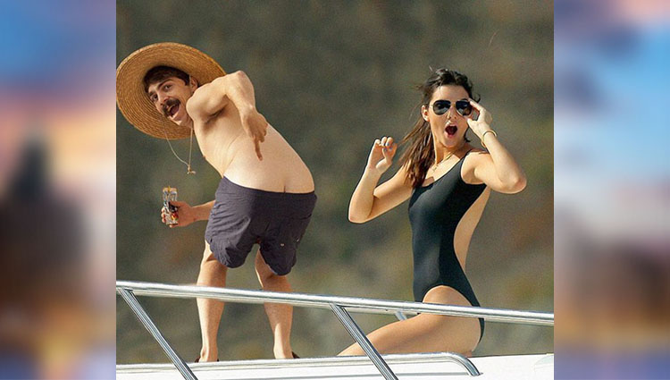 funny pictures of man with kendall jenner