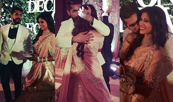 Kishwer and Suyyash reception grand celebration