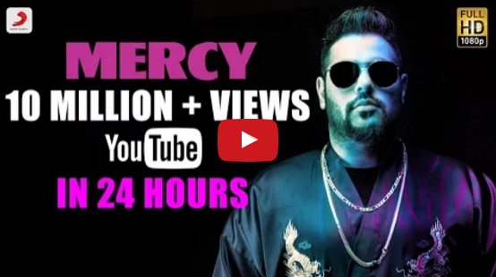 Badshah latest track Mercy video