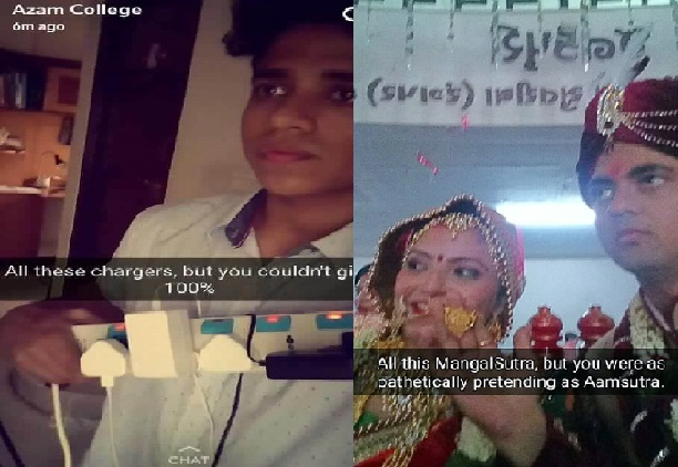 boyfriend send marriage pics to girlfriend