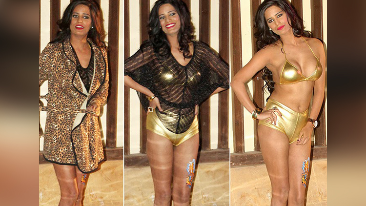 Poonam Pandey Strips Down in Public