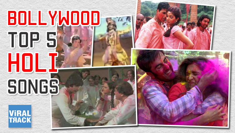 holi special 5 bollywood songs