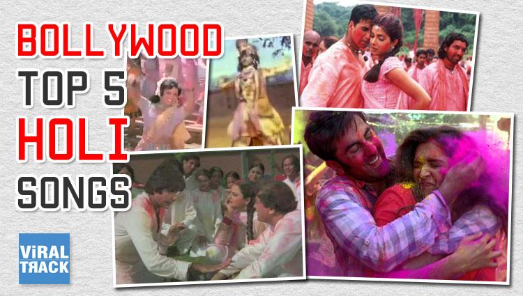 holi special 5 bollywood songs