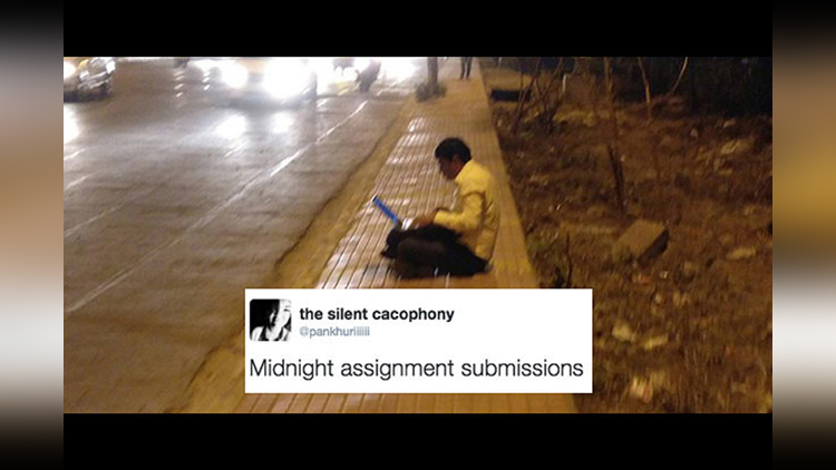 These memes of a man working on footpath will surely make you giggle