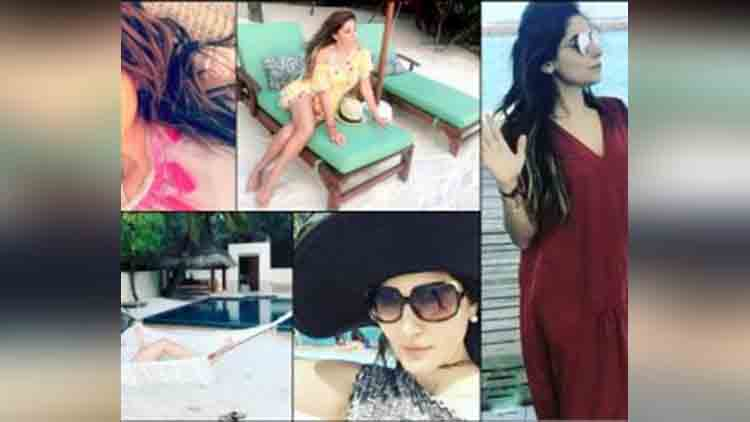 Here is how Kanika Kapoor is enjoying vacation in Maldives