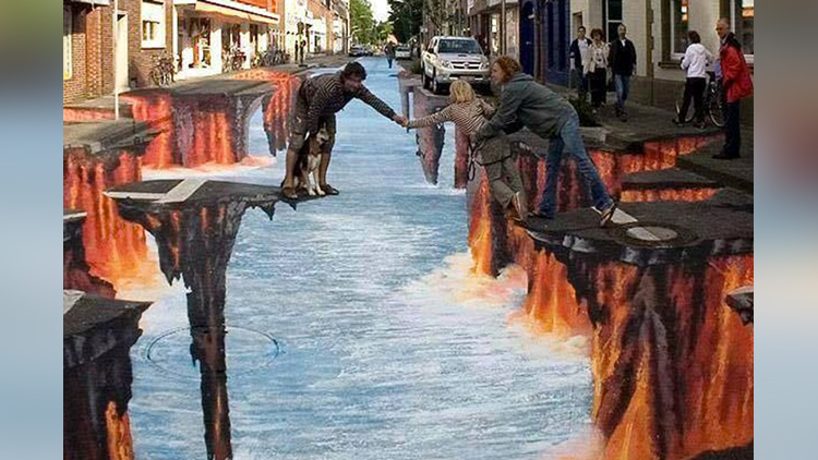 amazing 4d painting