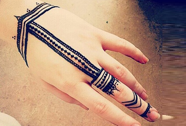 use these designs to make henna fast
