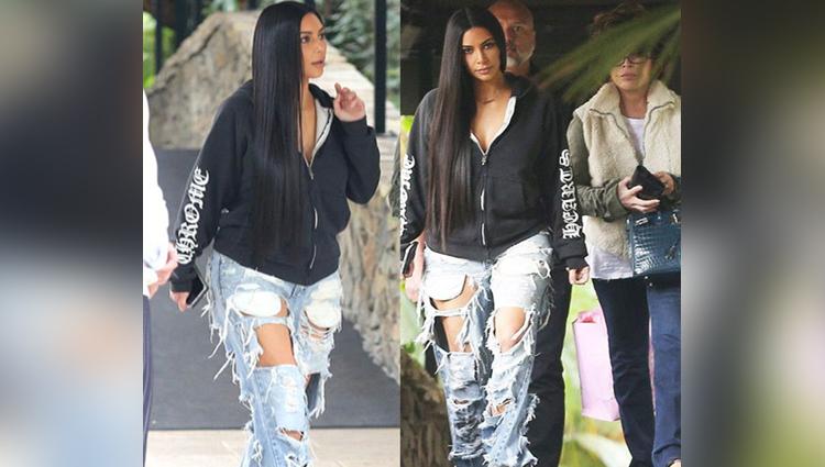 kim kardashian pictures viral on social sites