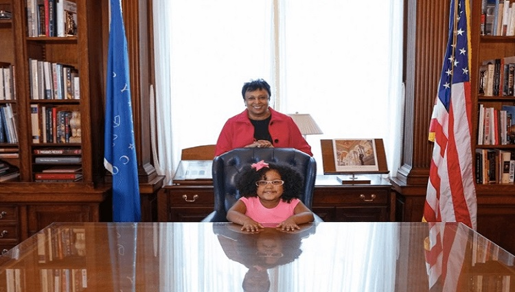 When a 4-year-old got the Chance to be Librarian of Congress For A Day?