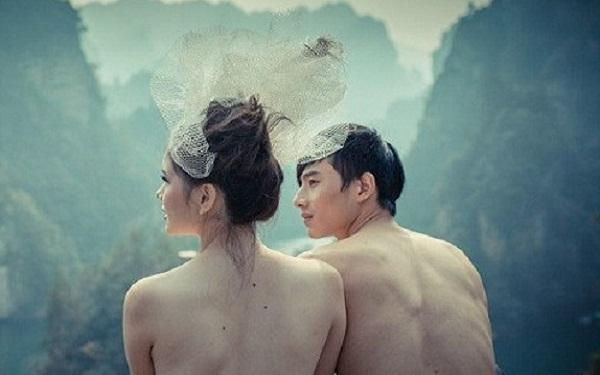 nude wedding ritual growing in china