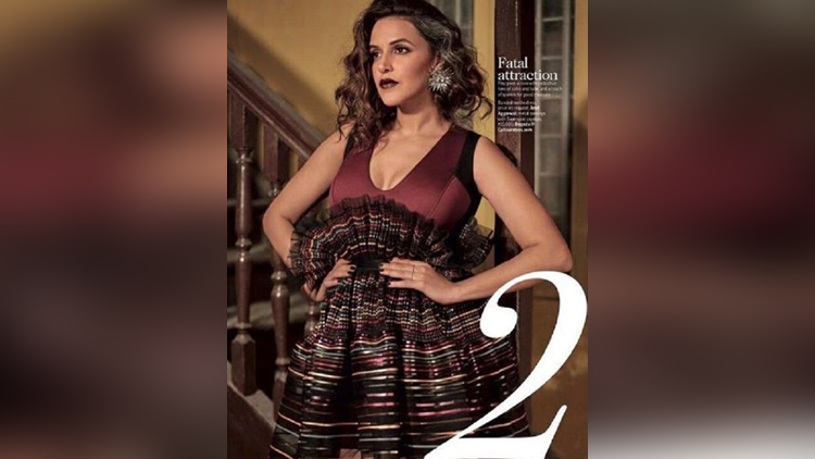 neha dhupia photoshoot for magazine femina