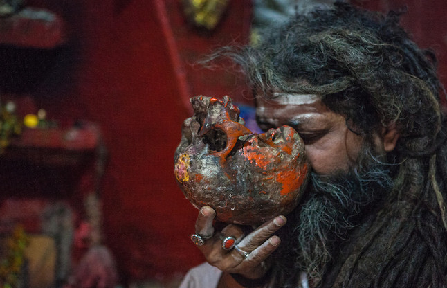 human flesh and drink blood agori sadhus