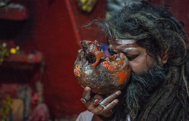 human flesh and drink blood agori sadhus