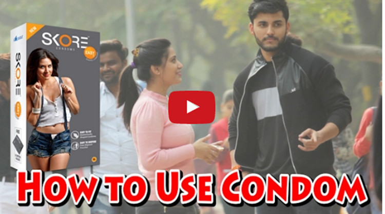 Girl Asking How to use CONDOM